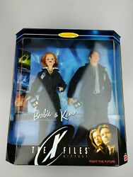 Barbie And Ken The X-files Giftset Scully Mulder Fight The Future 1998 90's 19630