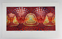 Alex Grey Net Of Being Signed Numbered Limited Rare Artist Proof Tool Art
