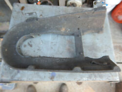 Vintage Atlas 15 Drill Press Lower Section Of Cast Iron Belt Guard