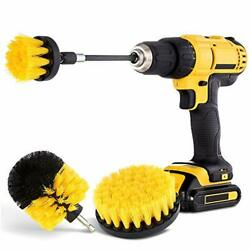 Drill Brush Attachment Set Power Scrubber Brush Cleaning For Bathroom Surfaces