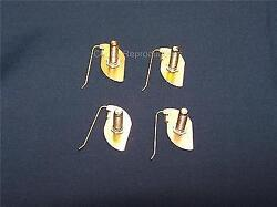 1946 - 1966 Cadillac 1956 Spear Misc.trim Clips Set Of 4