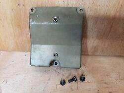 1973 Johnson Evin. 115hp Outboard Motor Air Vent Cover With Mounting Screws