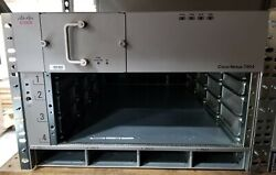 Cisco Nexus 7000 N7k-c7004 4 Slot Expansion Switch Chassis Good Condition