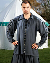 Men's Costume Movie Vintage Medieval Shirt, Finest Quality Hand Crafted