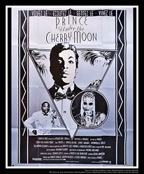 Under The Cherry Moon 4x6 Ft Vintage French Grande Movie Poster Original 1986