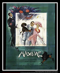 Maxime 5x8 Ft Double French Grande Movie Poster Original 1958
