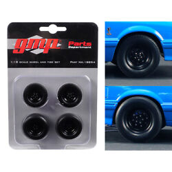 Wheels And Tires Set Of 4 From 1993 Ford Mustang Cobra 1320 Drag Kings King S...