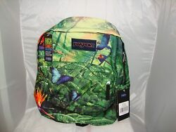 JanSport Student High Stakes Wild Jungle Backpacks School Laptop Tablet Bag NEW $26.91