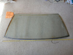 Oem Mercedes Benz W107 C107 R107 450slc Removable Top Rear Windshield Glass