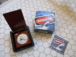 Beautiful 1 Oz Fine Silver Coin Commemorating The Great White Shark
