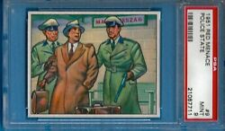 1951 Bowman Red Menace 9 Police State Psa 9 Pop 2 - 0 Higher