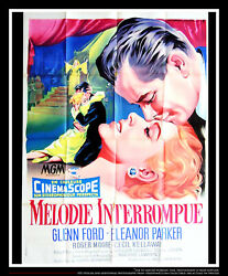 Interrupted Melody 4x6 Ft French Grande Original Movie Poster 1955