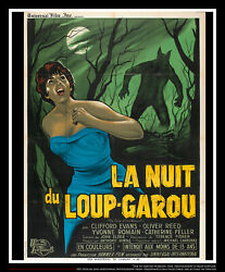 The Curse Of Werewolf Fold 4x6 Ft French Grande Movie Poster Original 1961
