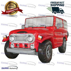 13ft Inflatable Jeep Car Model For Advertising Promotion With Air Blower