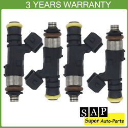 Set Of 4 Fuel Injectors For Ev1 Connector Honda Civic Acura Audi Ford 0280158830