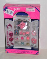 Pretty Treasures Armoire Gift Set Barbie Furniture And Accessories Htf 1997 Nrfb