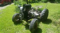Gibson Tractor With Front Plow