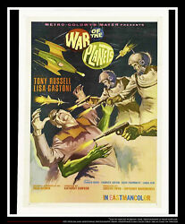 War Of The Planets 27x40 Us One Sheet Vintage Movie Poster Original 1966