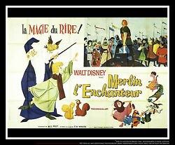 The Sword In The Stone 5x8 Ft Double French Grande Movie Poster Original 1963