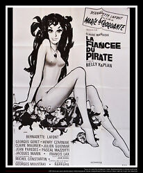 The Pirateand039s Betrothed 4x6 Ft French Grande Movie Original Poster 1969