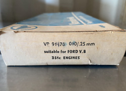 Vandervell Replacement Engine Main Bearings- Nos- Vp91470 - 010- Fits Ford 351c