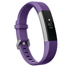 Fitbit Ace Activity Tracker For Kids 8+ Power Purple Adjustable Wristband