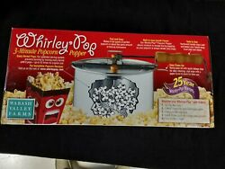 New In Box Wabash Valley Farms 6qt Whirley-pop Stovetop Popcorn Popper