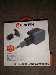 Griffin 3 Amp Breakfree Universal Wall Charger Up To 15watt For Phones And Tablets