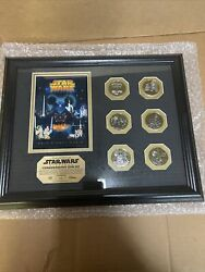 Star Wars Weekends 2005 Limited Edition Framed 6 Coin Set 212