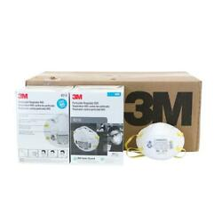 3m 8210 N95 Particulate Respirator 1 Case 8 Boxes/160 Total Masks Exp. 05/2026