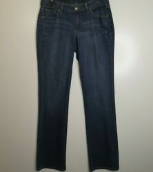 Jag Jeans Low Rise Boot Leg Medium Wash Solid Blue Jean Womenand039s 10l