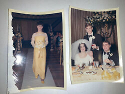 Old Chicago Wedding Photos Bride Party Yellow Dress Fashion Lot