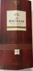 Rare Cask With Box - Macallan Empty Bottle Scotch Whiskey 2020 Release