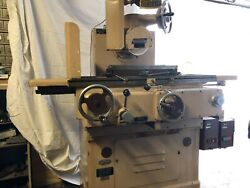 Norton Type S-3 Hydraulic Surface Grinder 6x18 Also Came With Duster Collector