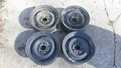 Factory Ford Mercury Wheels Rims Mustang Fairlane Falcon 14 X 6 Set 67 68 69 70