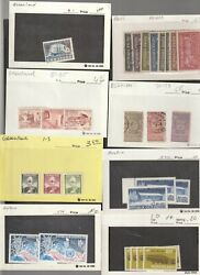 Worldwide Stamp Collection Dealers Stock 200 Display Retail Cards Used Unused