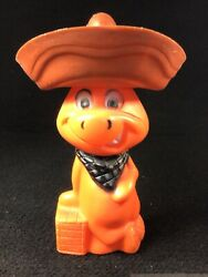 Vintage Hanna-barbera Baba Looey Plastic Coin Bank. 1960and039s-70and039s