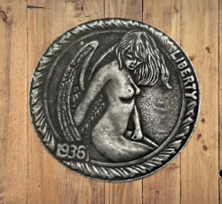 Hobo Nickels Sexy Woman Angel Girl God Wings Silver Us Challenge Art Coin Rare $13.99