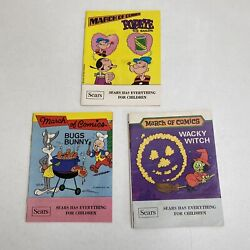 Lot Of 3 Sears March Of Comics Comic Books Wacky Witch Bugs Bunny Popeye Sailor