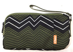 Chaco Radlands Clutch Women's Wristlet Wallet Black amp; Green $17.99