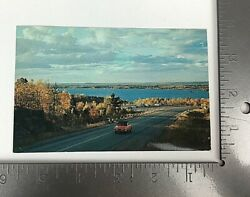Vintage Postcard Posted The Lookout Lake Nipissing Callander Ontario Canada