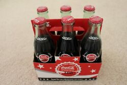 Coca Cola North Texas Bottling Company 100th Anniversary 6 Pack Bottles New Full