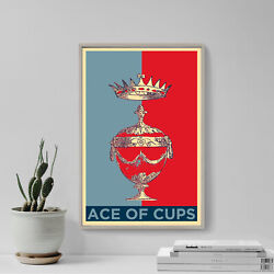 Ace Of Cups Tarot Card Art Print - Hope - Photo Poster Gift