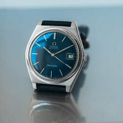 Omega Seamaster Ref.1660169 Vintage Stainless Steel Date Automatic Mens Watch