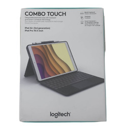 Logitech Combo Touch Keyboard Case For Ipad Air / Pro 3rd Gen. - 10.5 Inch