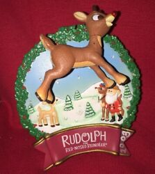Carlton Cards Heirloom Collection Ornament - Rudolphand039s First Crush 2004
