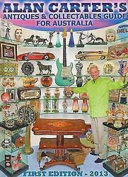 Alan Carter's Antiques And Collectables Guide For Australia 2013 – Excellent