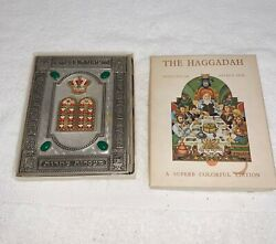 The Haggadah Arthur Szyk Jeweled Silver Plated Cover