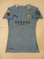 Rose Lavelle Manchester City Usa Uswnt Womens Home Blue Jersey 2020-2021