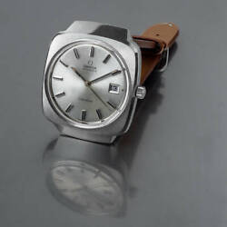 Omega Geneve Ref.166.0164 Vintage Overhaul Date Automatic Mens Watch Auth Works